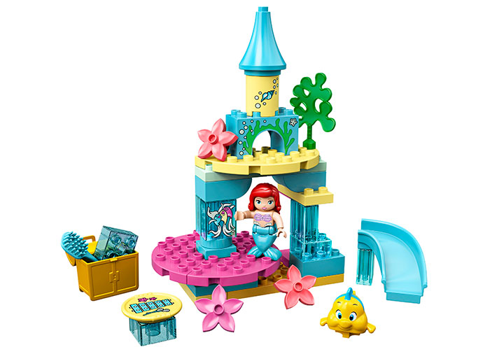 Castelul lui ariel lego duplo - 2