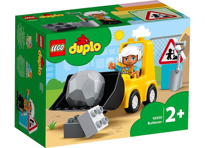 Buldozer lego duplo