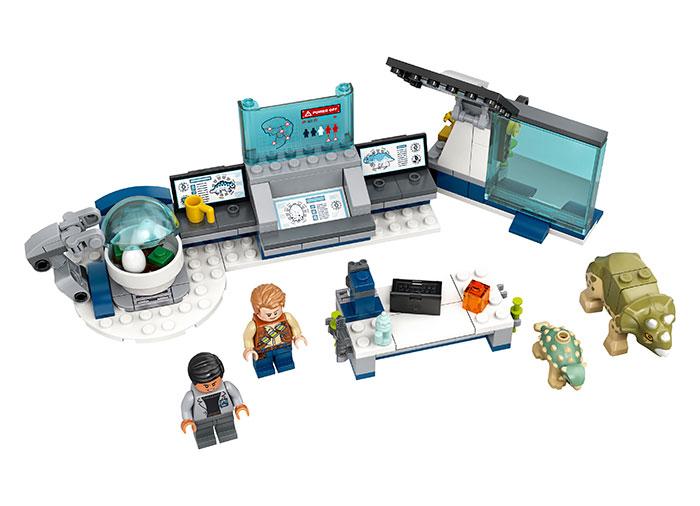 Laboratorul dr wu lego jurassic world - 1