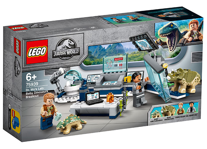 Laboratorul dr wu lego jurassic world