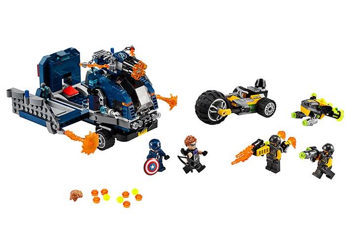 Razbunatorii camionului lego marvel super heroes - 1