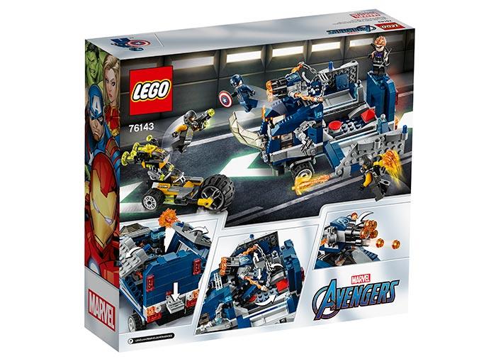 Razbunatorii camionului lego marvel super heroes - 2