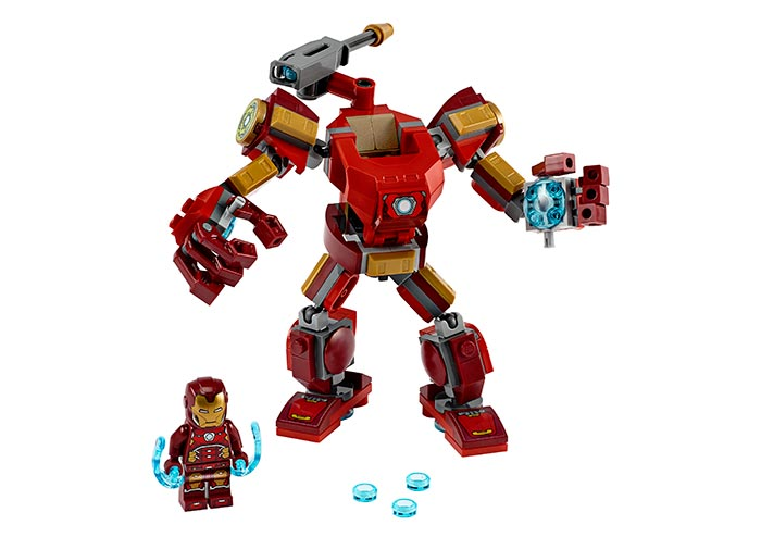 Robot iron man lego marvel super heroes - 1
