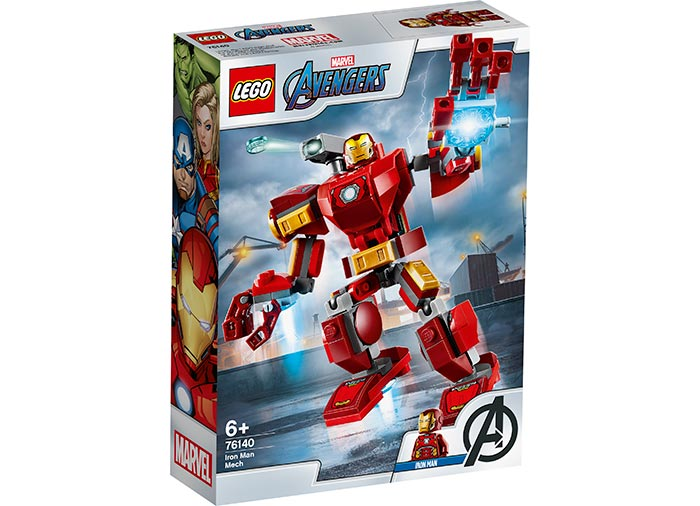 Robot iron man lego marvel super heroes