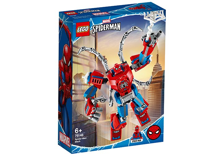 Robot spider man lego marvel super heroes