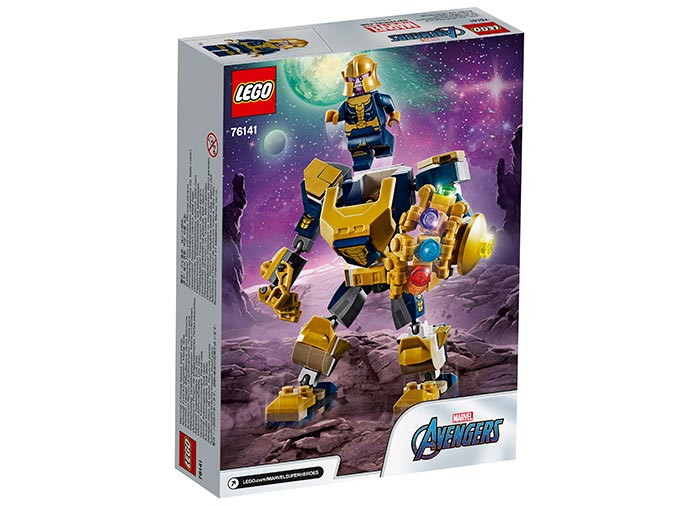 Robot thanos lego marvel super heroes - 1
