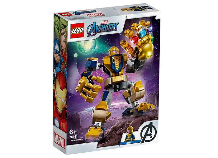 Robot thanos lego marvel super heroes