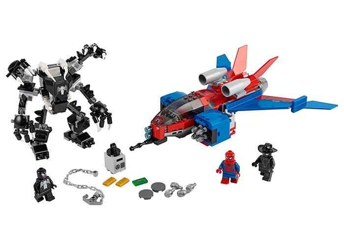 Spiderjet si robotul venom lego marvel super heroes - 2