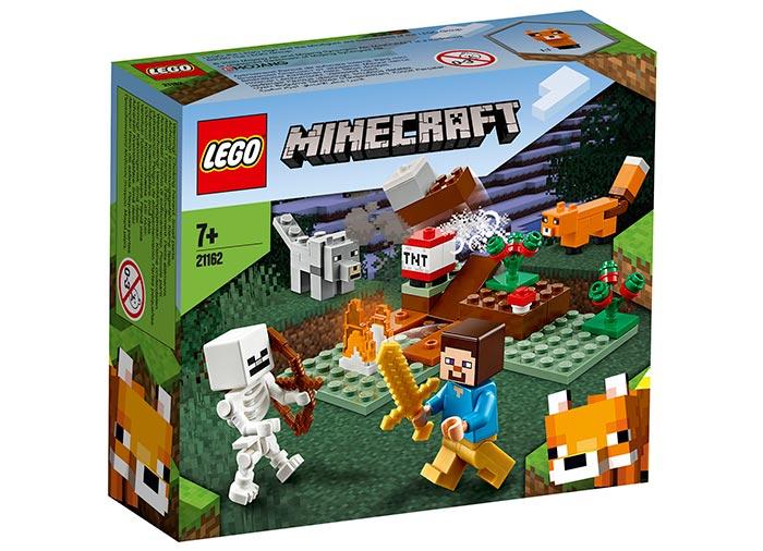 Aventura din taiga lego minecraft