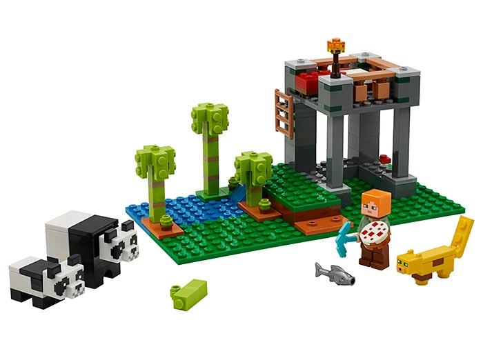 Cresa ursilor panda lego minecraft - 1