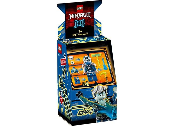 Avatar jay capsula joc electronic lego ninjago
