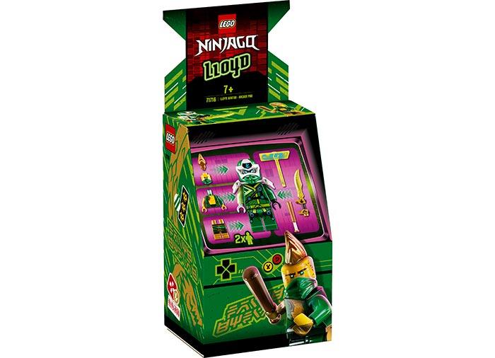 Avatar lloyd capsula joc electronic lego ninjago