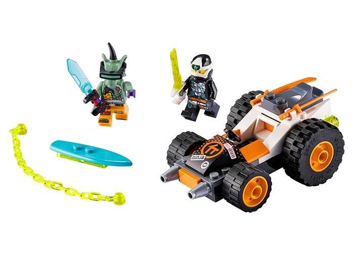 Masina de viteza a lui cole lego ninjago - 1