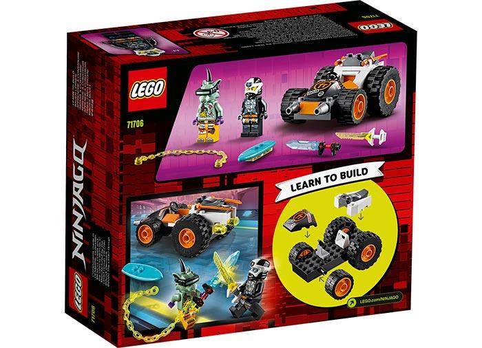 Masina de viteza a lui cole lego ninjago - 2