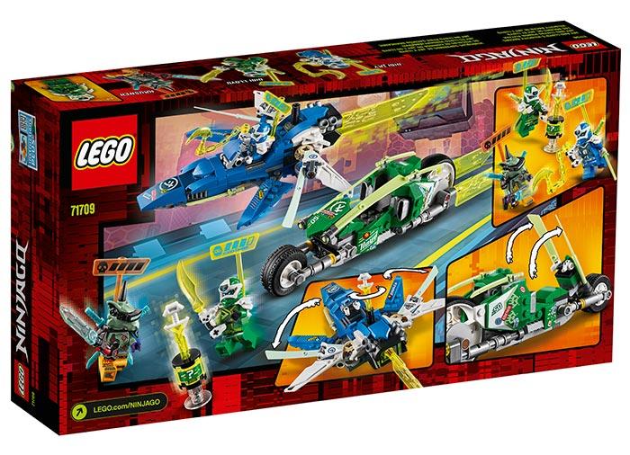 Masinile de curse ale lui jay si lloyd lego ninjago - 2