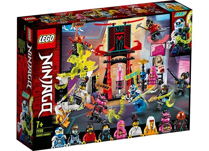 Piata jucatorilor lego ninjago