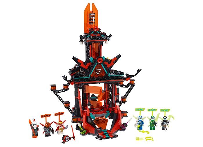 Templul imperial al nebuniei lego ninjago - 2