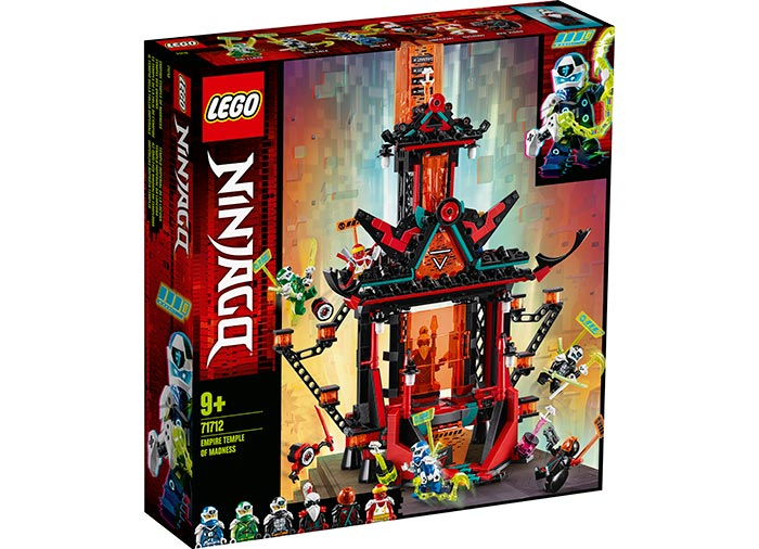 Templul imperial al nebuniei lego ninjago