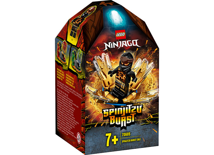 Spinjitzu burst cole lego ninjago