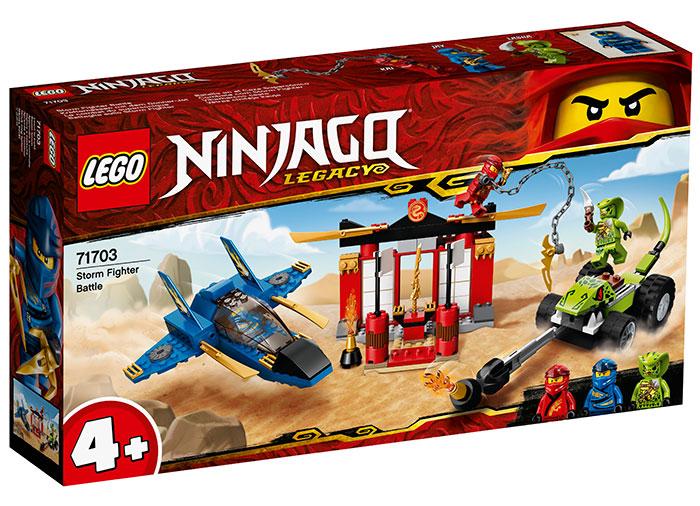 Intrecere cu avionul de lupta lego ninjago