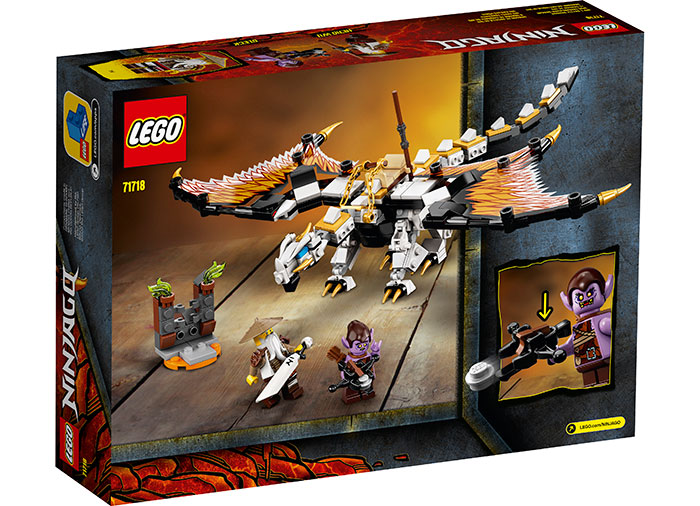 Dragonul de lupta al lui wu lego ninjago - 2