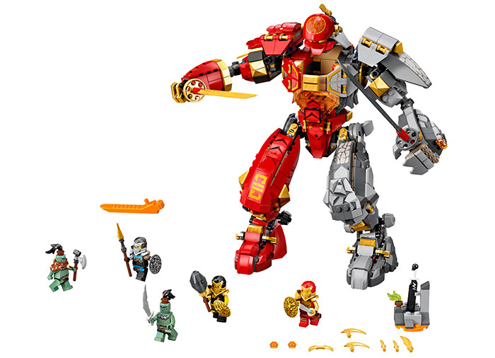 Robot firestone lego ninjago - 2