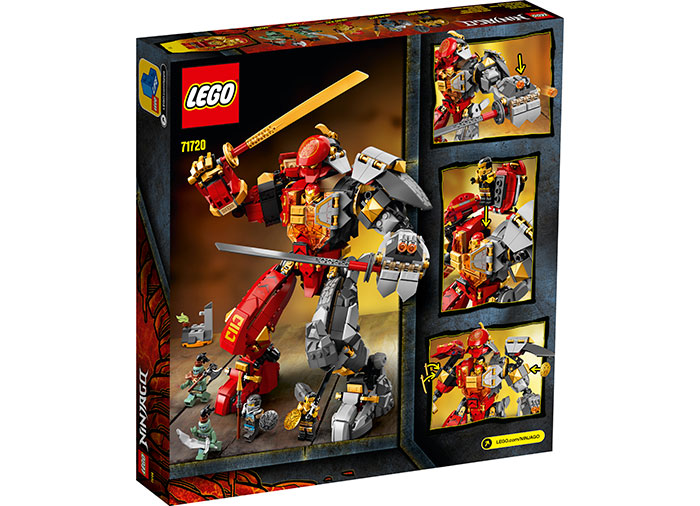 Robot firestone lego ninjago - 1