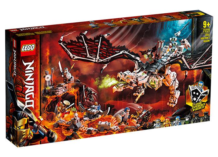 Dragonul vrajitorului craniu lego ninjago