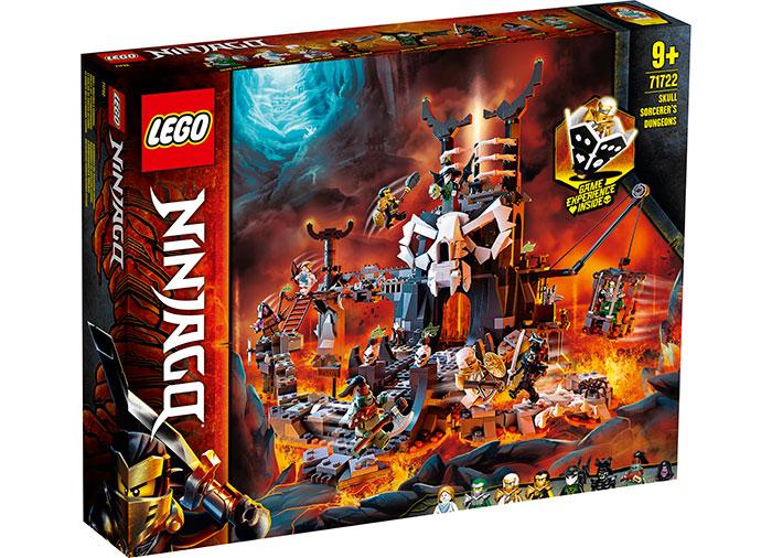 Temnitele vrajitorului craniu lego ninjago