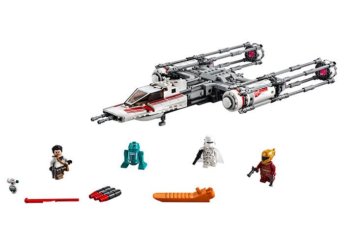 Resistance y-wing starfighter lego star wars - 2