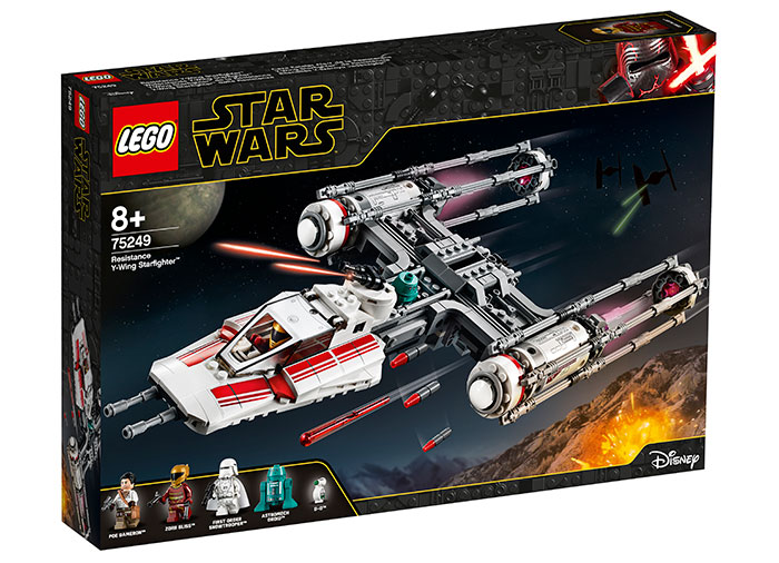 Resistance y-wing starfighter lego star wars