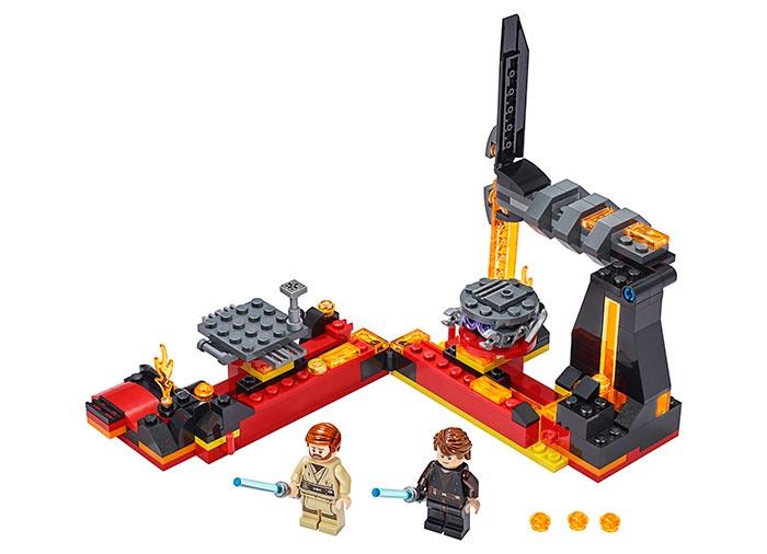 Duel pe mustafar lego star wars - 2