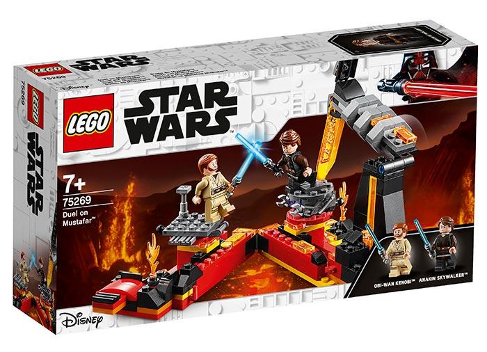 Duel pe mustafar lego star wars
