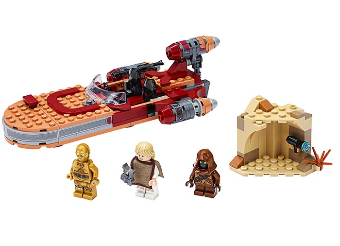 Landspeeder-ul lui luke skywalker lego star wars - 2