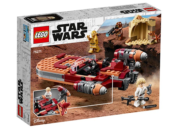 Landspeeder-ul lui luke skywalker lego star wars - 1