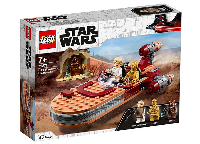 Landspeeder-ul lui luke skywalker lego star wars