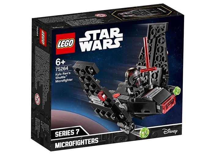 Microfighter naveta lui kylo ren lego star wars