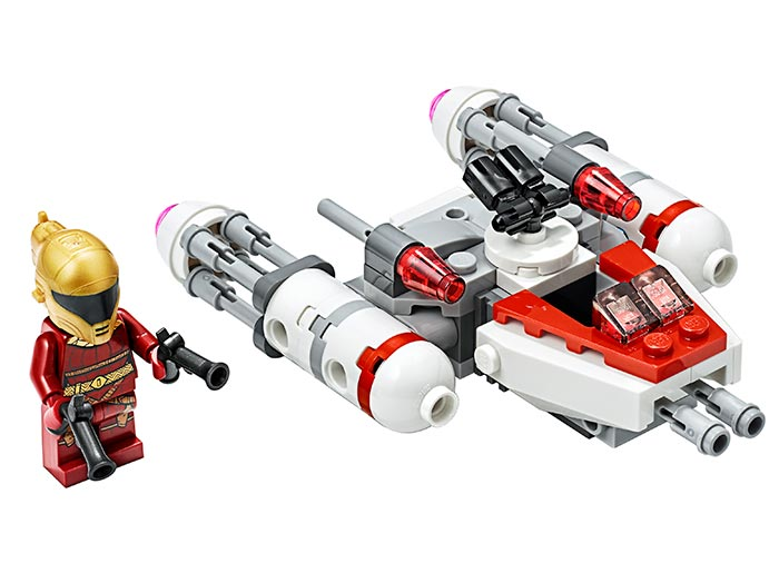 Microfighter resistance y wing lego star wars - 2