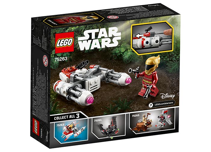 Microfighter resistance y wing lego star wars - 1