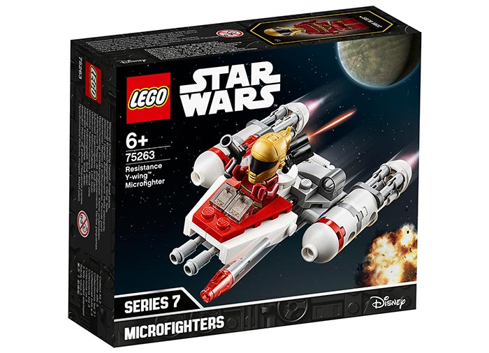 Microfighter resistance y wing lego star wars