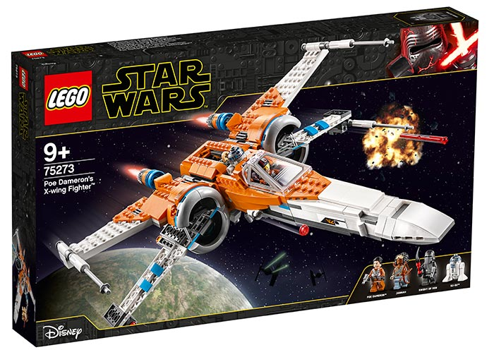 X wing fighter al lui poe dameron lego star wars