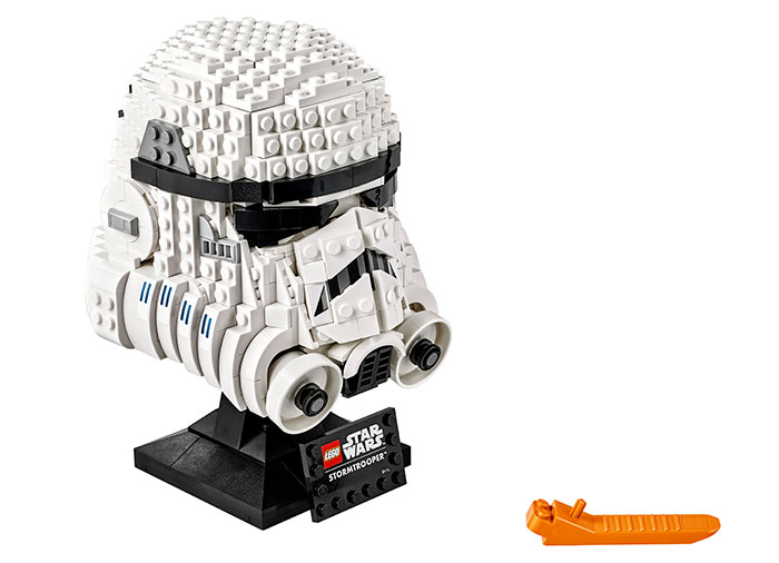 Casca de stormtrooper lego star wars - 2