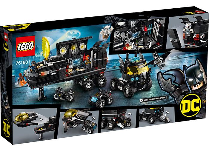 Baza mobila a lui batman lego dc super heroes - 1