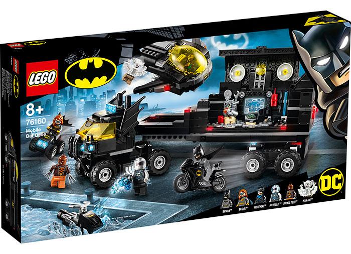 Baza mobila a lui batman lego dc super heroes
