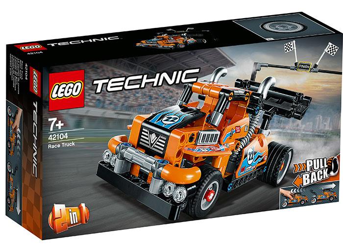 Camion de curse lego technic
