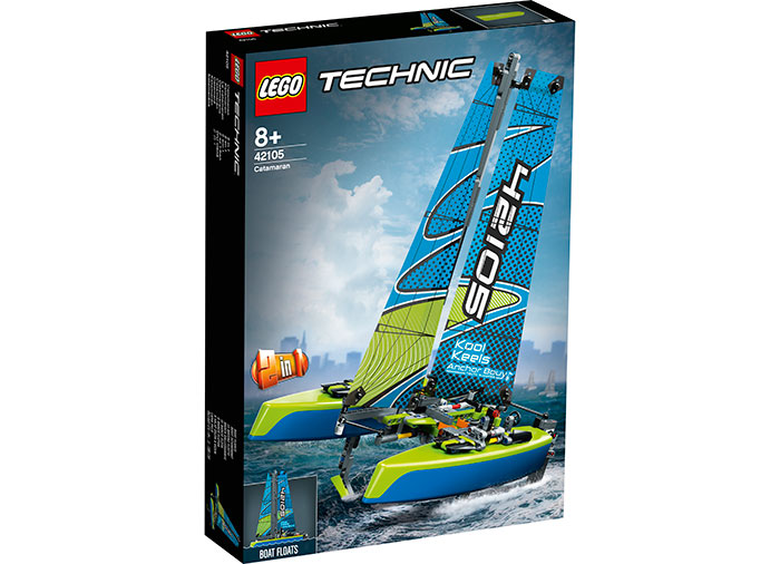 Catamaran lego technic