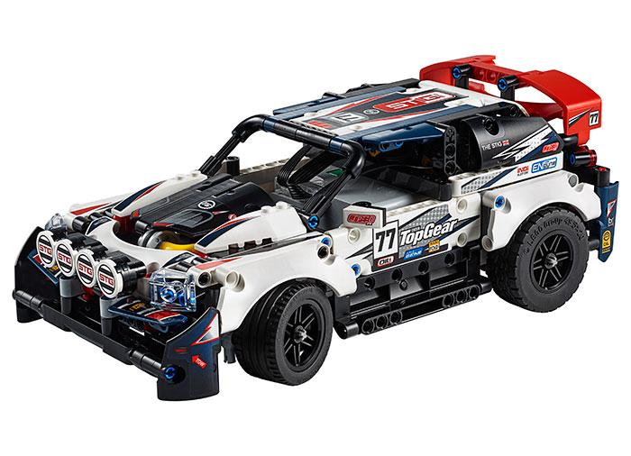 Masina de raliuri top gear teleghidata lego technic - 1