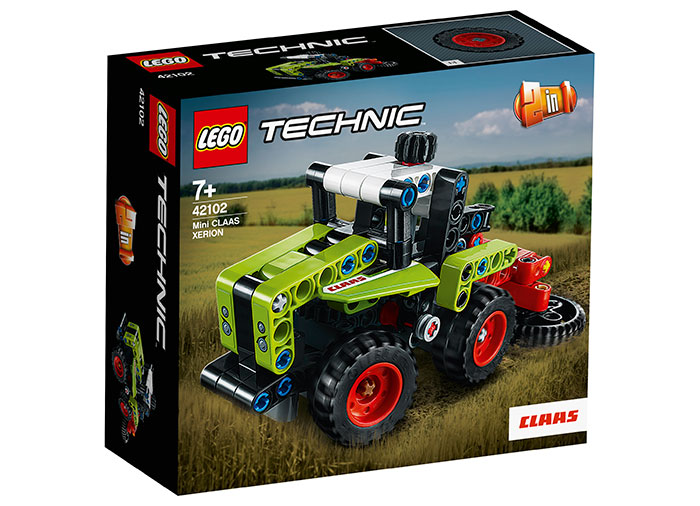 Mini claas xerion lego technic