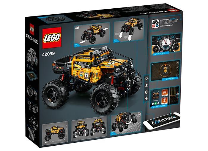 4x4 xtreme off roader lego technic - 2
