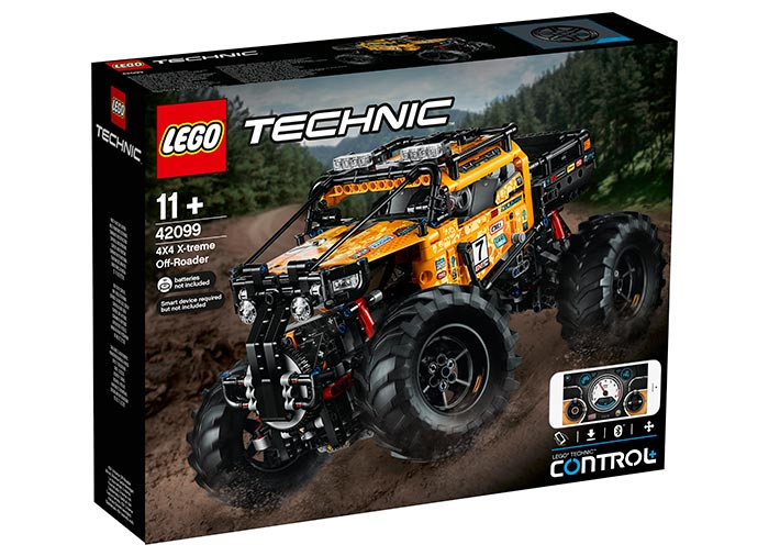 4x4 xtreme off roader lego technic